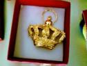 De colectie! Decorație Coroana Regală aurita