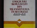 Emigrari romanesti din Transilvania in sec XIII - XX