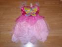 Costum carnaval serbare barbie fluture zana 7-8 ani