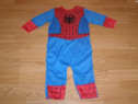 Costum carnaval serbare spiderman 9-12 luni 1 an ani