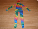 Costum carnaval serbare skin pentru copii de 10-11 ani
