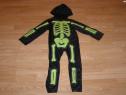 Costum carnaval serbare schelet pentru copii de 4-5-6 ani