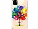 Husa Telefon Silicon Apple iPhone 11 6.1 Clear Tree NOU