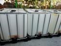 Bazine 1000 l, ibc, containere, cuburi 1000 l alimentare