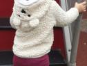 Jacheta hanorac ursuleț H&M, 6-12 luni (unisex)