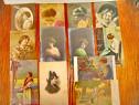 A924-Carti Postale vechi tema Femei interbelice stare buna.