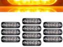 Set de LED-uri Stroboscop - Culoare Galbena