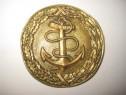 5883-I-Pafta Catarama militara marina veche bronz,stare buna