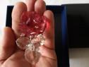 Cristal Swarovski - trandafir rosu