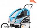 Remorcă bicicletă & cărucior copii 2-în-1, 91377