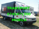 Transport mobil mutări, transport marfa