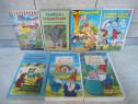 Casete video, cu desene animate in limba Germana