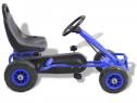 Mașinuță kart cu pedale și roți 80198
