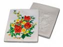 Tablou ipsos cu flori pentru pictat