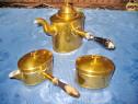 351A- Set 3 piese servit cafea, ceai, uz casnic sau picnic.