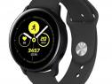 Curea Bratara Silicon Samsung Galaxy Watch Active2 Black