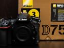 Nikon D750 + inca un acumulator original
