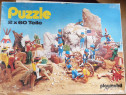 Puzzle playmobil 2*60 piese