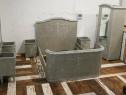 Dormitor vienez vechi din lemn (Pat/Dulap/Toaleta/Noptiere)