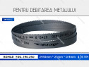 Panza 2910x27x4/6 fierastrau metal BOMAR ERG. 290.250 banzic