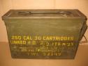 B544-Cutie militara munitie razboi USA GP& F TWL 92349 metal