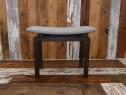 Taburet vechi din lemn de fag reconditionat (Scaunel/Bancuta