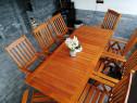 Set mobila de gradina din lemn masiv