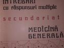 Intrebari cu raspunsuri multiple- secundariat- medicina gene