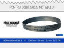 Fierastrau banda metal 2360x20x0.9x6/10 Bernardo Gbs 180 G