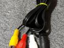 Cablu audio video (AV) jack 3.5mm 4 pin tata la 3 x RCA tata