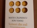 Matei Călinescu, Ion Vianu - Scrisori din exil (2019) nouă