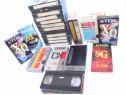 Lot de 25 de casete video cu filme din anii '80-2005