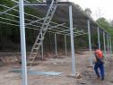 Structura metalică 6m lățime 20m lungime