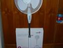 Ventilator nou oscilant, cu picior, 45 w, 40 cm, garanție