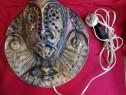 Aplica Ceramica Veioza de perete lampa România anii 80