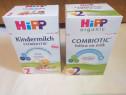 3 cutii lapte: 2 Hipp Combiotic;Bebevita,sigilate