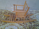 Balansoar multifunctional de joaca copii din lemn