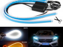 BANDA LED FAR AUTO - Neon Flexibil / Lumini De Zi Secvential