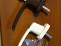 Maner termopan cu cheie accesorii temopan feronerie AL./PVC.