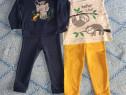 Pijamale toamnă/iarna : 2 buc, mărimea 92
