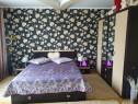 Dormitor Domino Pat + Șifonier 4 uși + 2 Noptiere cu sertar