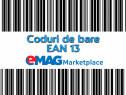Coduri de bare EAN 13 pentru -13 eMAG Marketplace;cod EANGS1