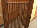 Masca de calorifer vintage lemn masiv 80 cm; Protectie