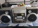 Combină audio cu auxiliar amplificator