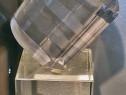 Obiect decorativ unicat - cristal optic, conceptie Ghildus