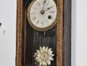 Ceas de perete cu pendul Union Clock Co. Furtwangen 1894
