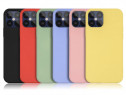 Iphone 12 MINI PRO MAX - Husa Ultra Slim Silicon Cu Catifea