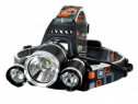 Lanterna frontala de cap MRG, 3 LED-uri, Reincarcabila C355