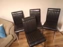 Set 4 scaune bucatarie /dining (piele ecologica)