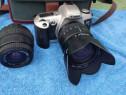 .Aparat Foto Canon EOS 500 N vechi + 2 Obiective si geanta